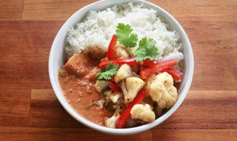 Zeleninové kari Veggie curry